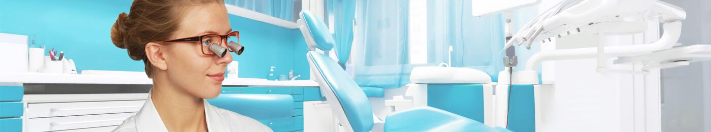 Dental Loupes Fusion TTL 2.5x - 3.0x