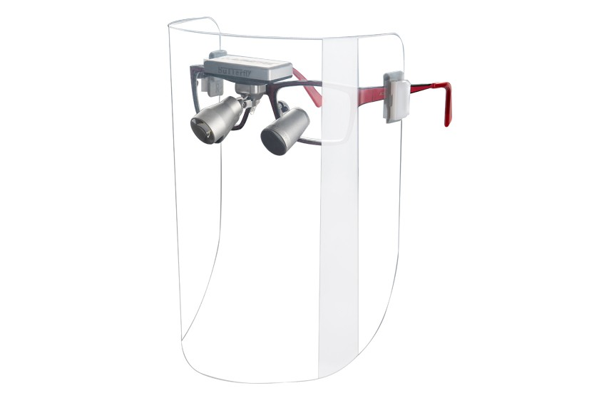 FACE SHIELD FOR LOUPES