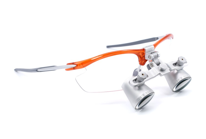 Dental Loupes  Fusion Flip-Up 2.5x