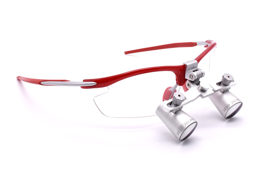 Expanded Field Dental Loupes  Fusion Flip-Up 3.5
