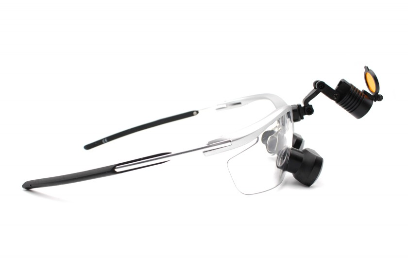 Dental Loupes and Headlight Combo Feather  TTL 3.5x, Save $100
