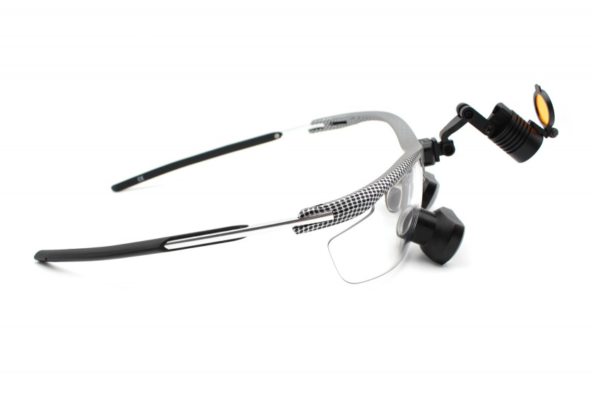Dental Loupes and Headlight Combo Feather  TTL 2.5x, Save $100