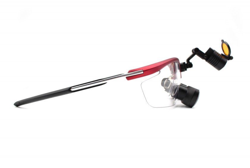 Dental Loupes and Headlight Combo Feather TTL 2.0x-3.5x, Save $200