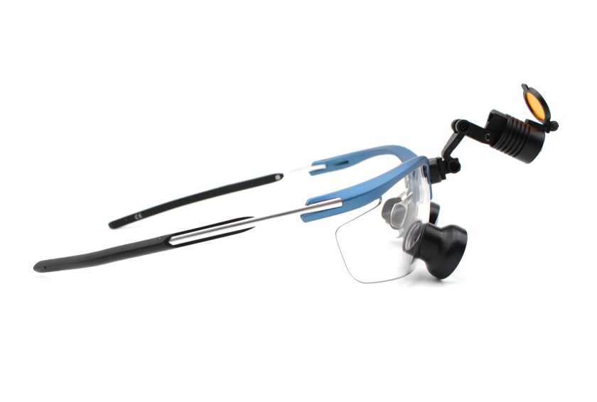 Dental  Loupes and Headlight Combo Micro TTL 2.5x, Save $200