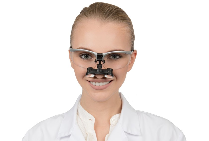 Dental Loupes Micro Flip-Up 2.5x