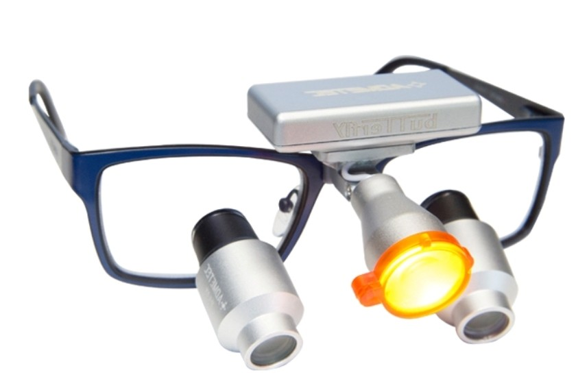 High Power Prismatic Dental Surgical Loupes TTL 5.5x