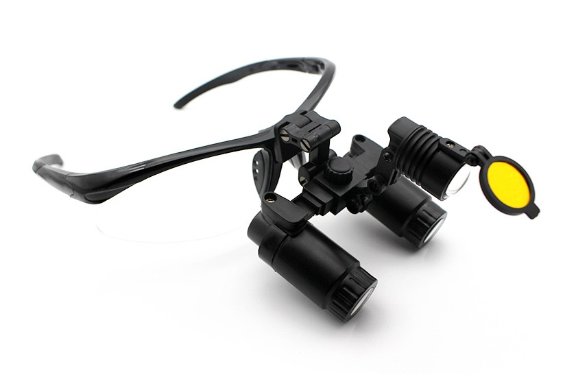 Surgical Loupes and Headlight Combo Flip-Up 4.0x-6.0x, Save $200