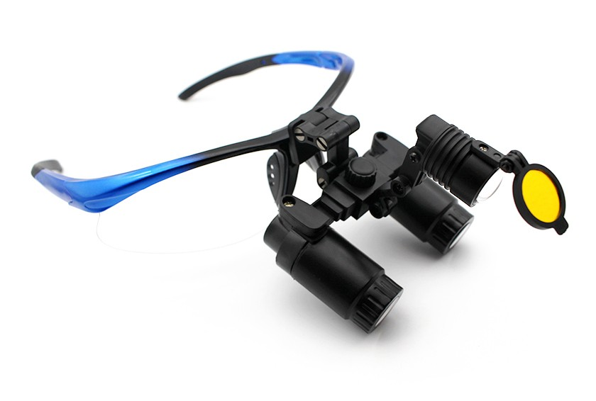 Flip-Up Surgical  Medical Loupes and Headlight Combo 4.0x-6.0x, Save $200