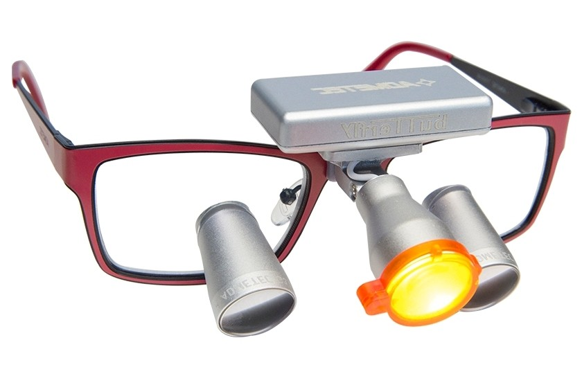 Dental Loupes and Headlight Combo 2.5x Fusion TTL