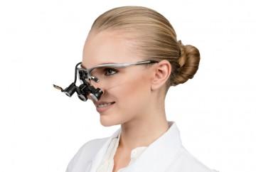 Dental Loupes Micro Flip-Up and  Headlight 3.0x