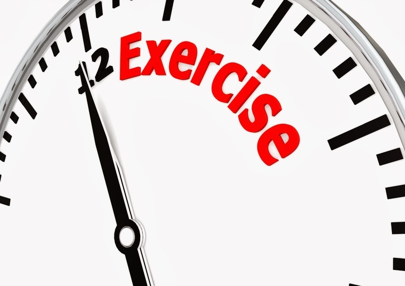 Take time to exercise