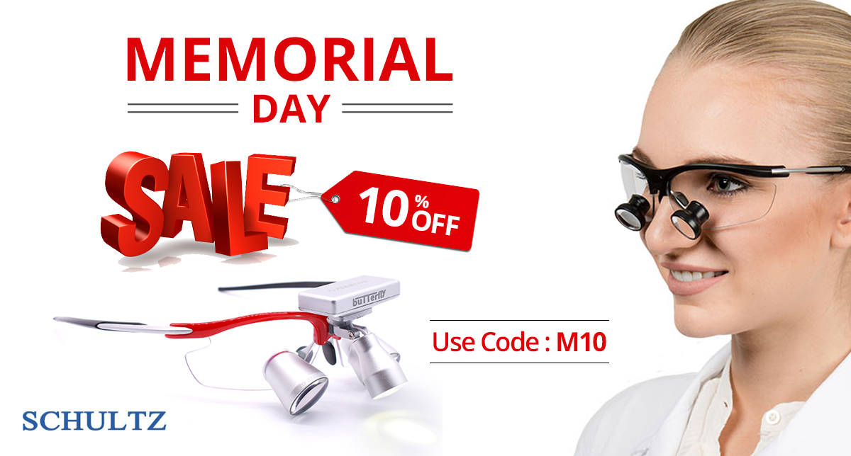 Get 10% off | It's Memorial Day Sale at Schultz Optical