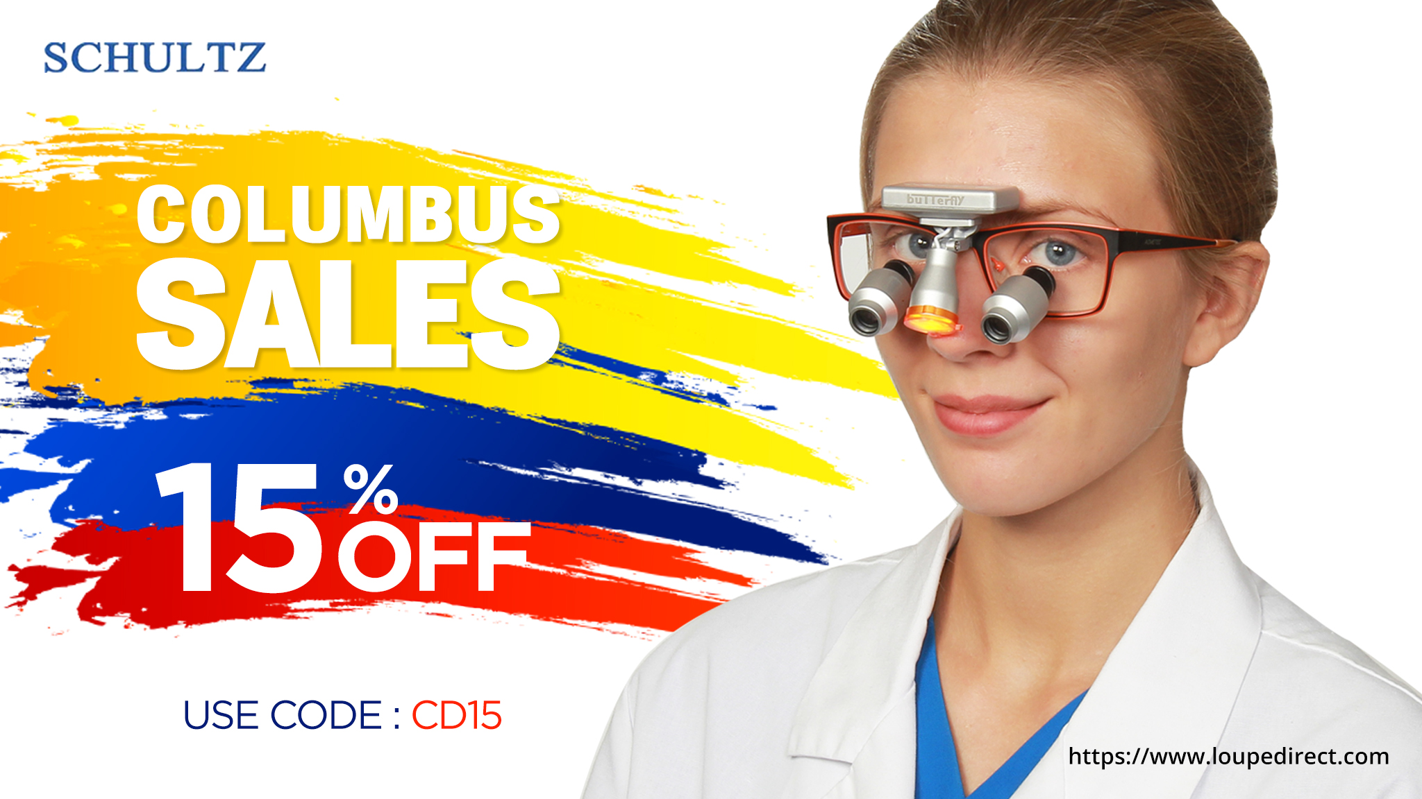 Buy Loupes And Headlights During Our Columbus Sale - SCHULTZ