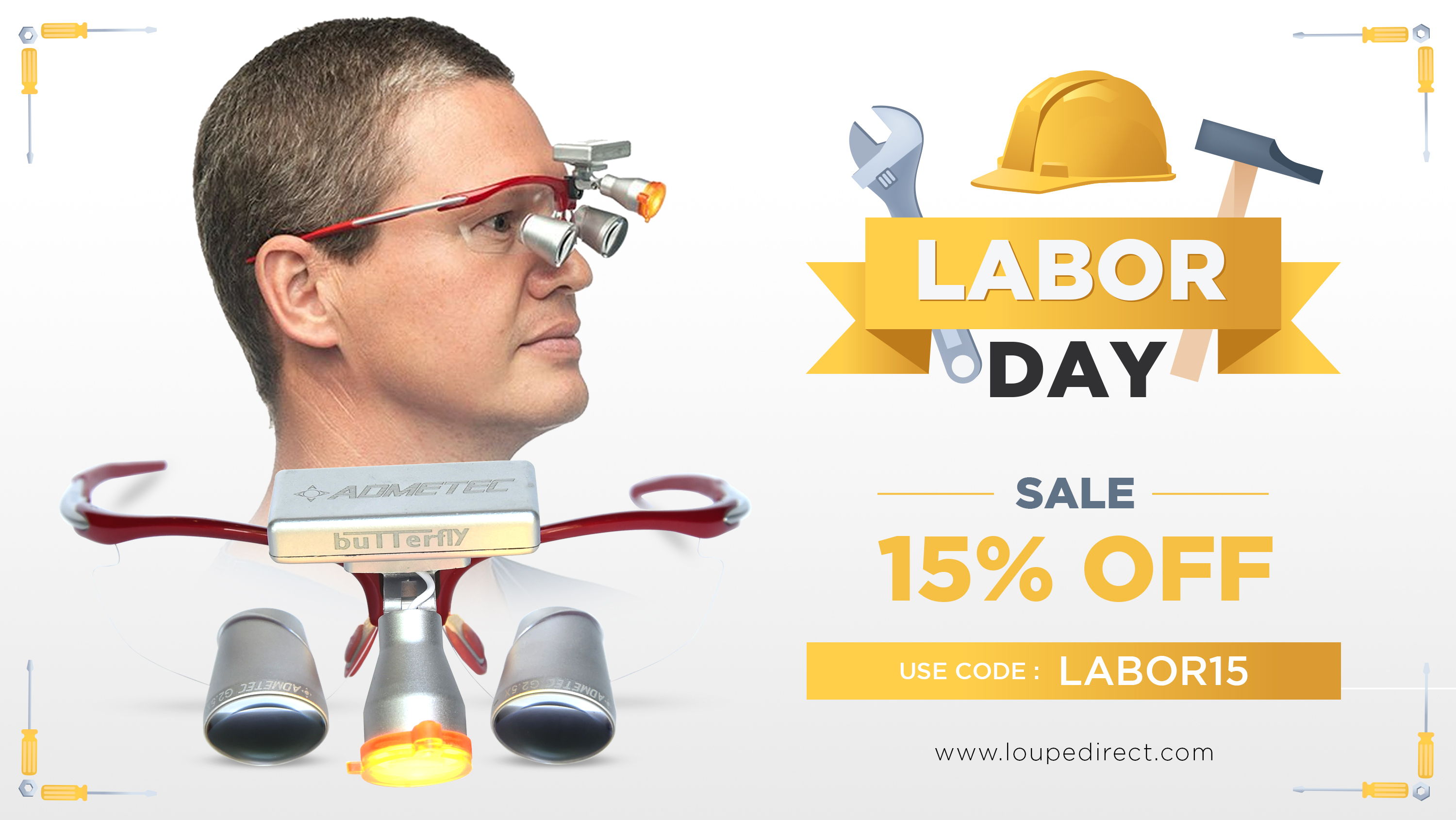 Labor Day Sale| Save As Much As 15% For Every Schultz Optical Loupes And Headlights You Buy